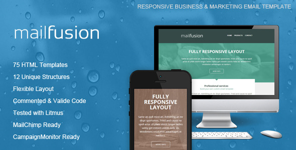 MailFusion - Responsive Email Template