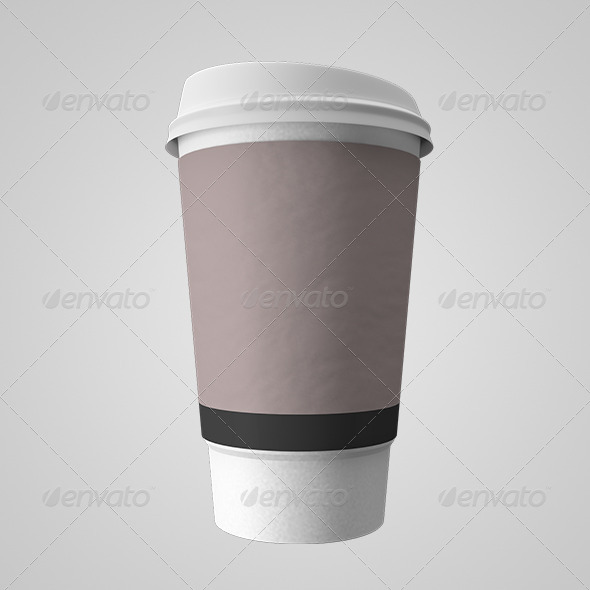GraphicRiver Paper Coffee Cup 6429228