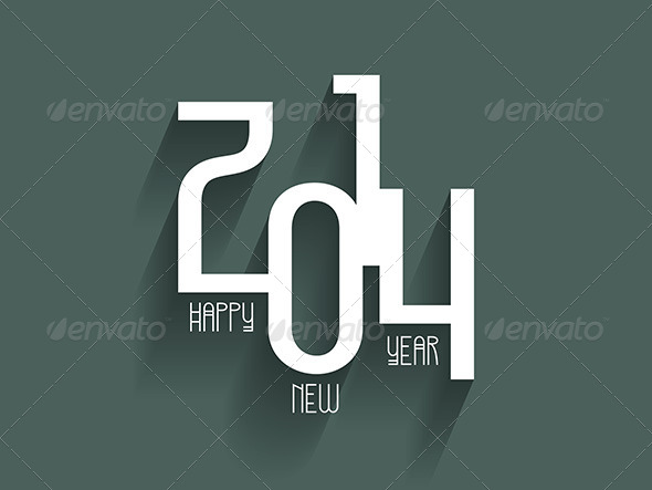 GraphicRiver Happy New Year Background 6429275