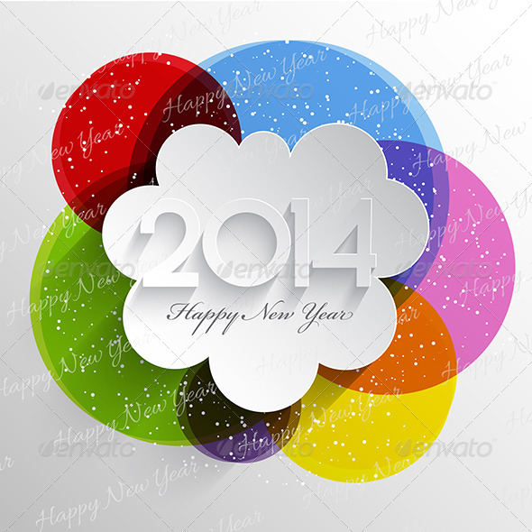 GraphicRiver Happy New Year Background 6429299