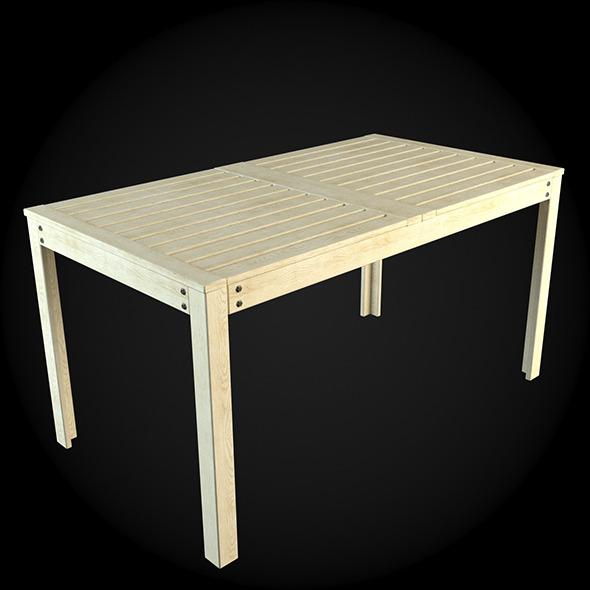 Garden Furniture 049 - 3DOcean Item for Sale
