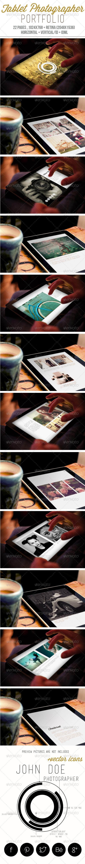 GraphicRiver Tablet Photographer Portfolio 6429341