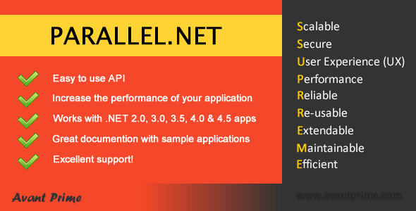Parallel.NET - Background Task Scheduler - CodeCanyon Item for Sale