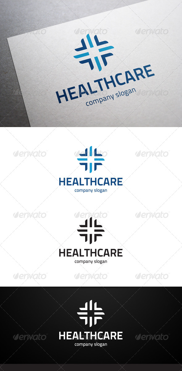 GraphicRiver Healthcare Logo 6429459