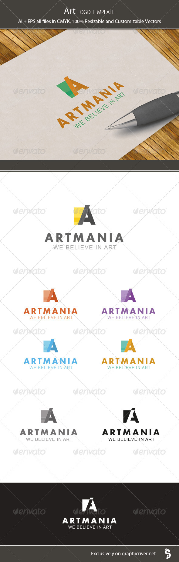Art Logo Template