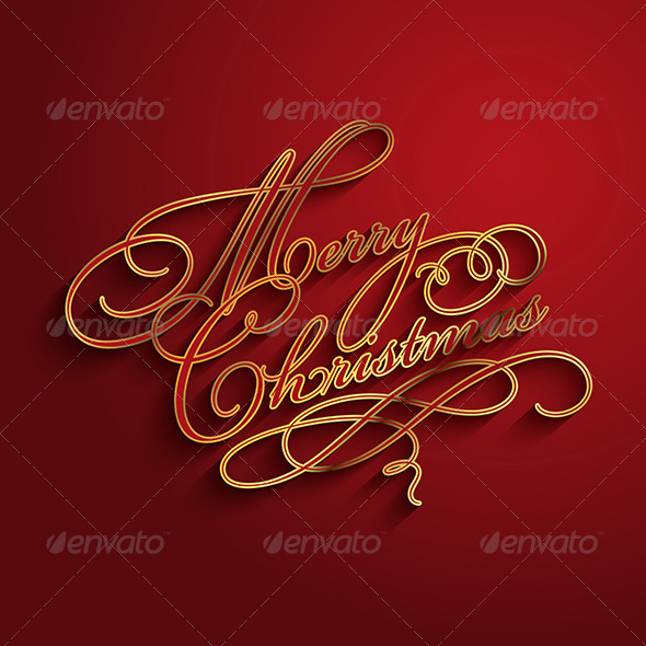 GraphicRiver Merry Christmas Background 6429681