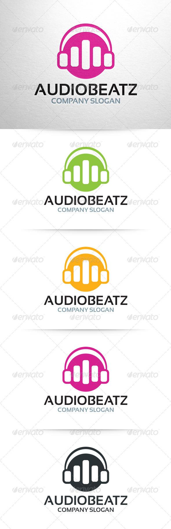 GraphicRiver Audio Beatz Logo 6429986