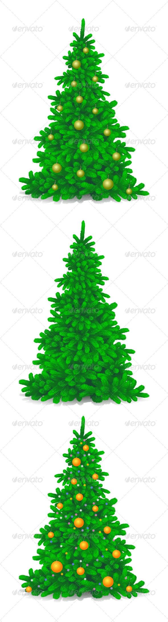GraphicRiver Christmas Trees 6430062