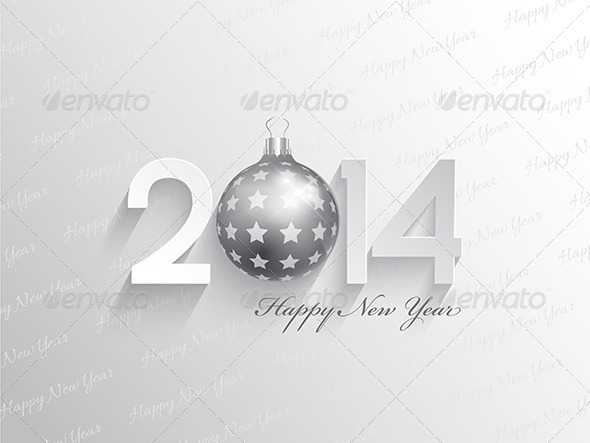 GraphicRiver Happy New Year Background 6430129