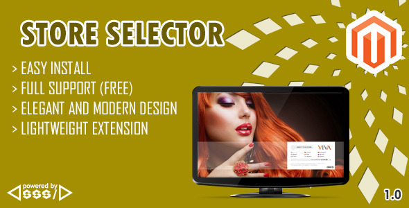 CodeCanyon Store Selector Magento Extension 6430137