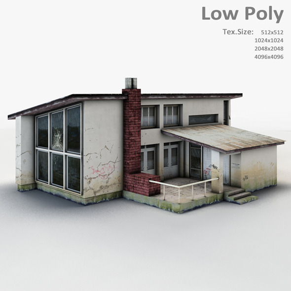 Building 002 - 3DOcean Item for Sale