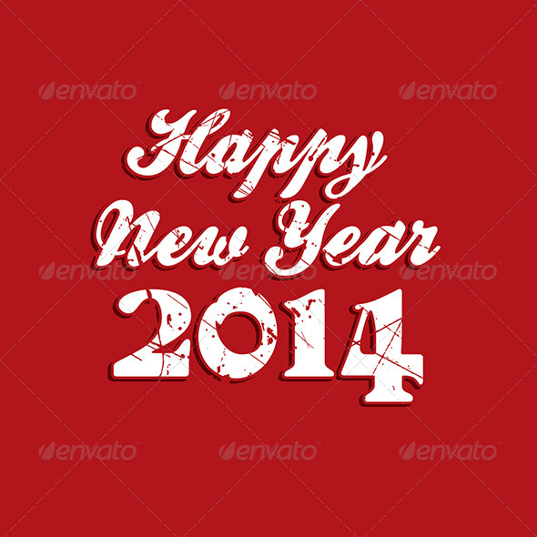GraphicRiver Happy New Year Background 6430210