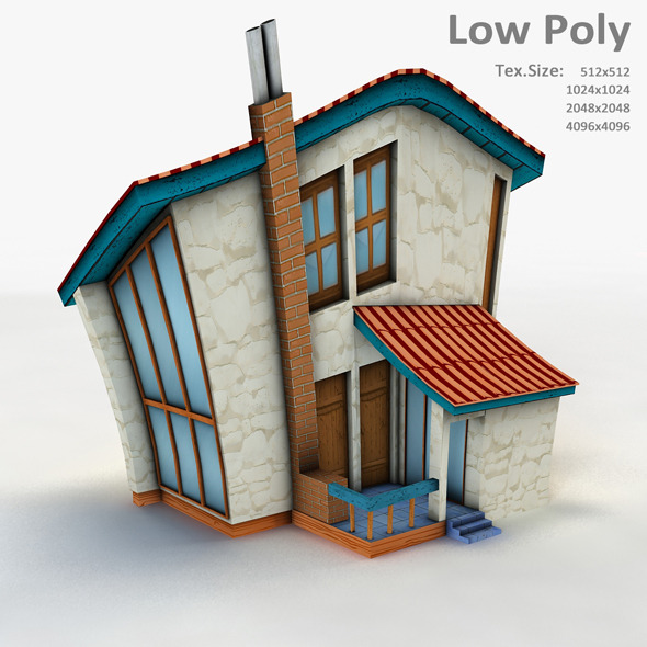 Building 003 - 3DOcean Item for Sale