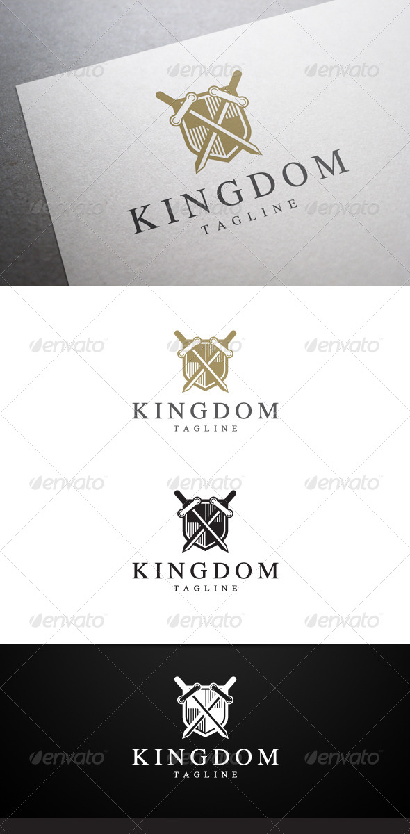 GraphicRiver Kingdom Logo V2 6430345