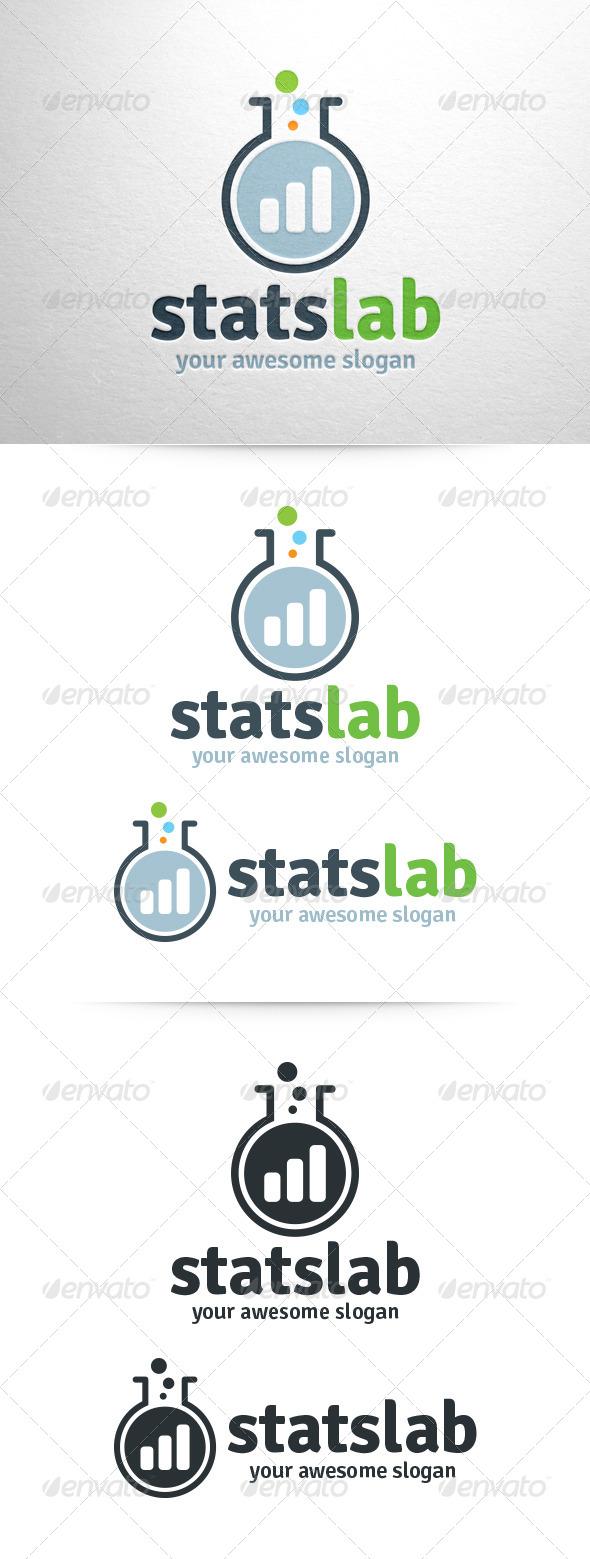 GraphicRiver Stats Lab Logo 6430532