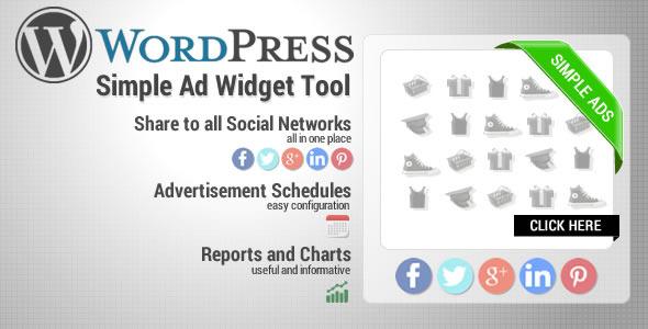 CodeCanyon Wordpress Simple Ads Widget Tool 6430736