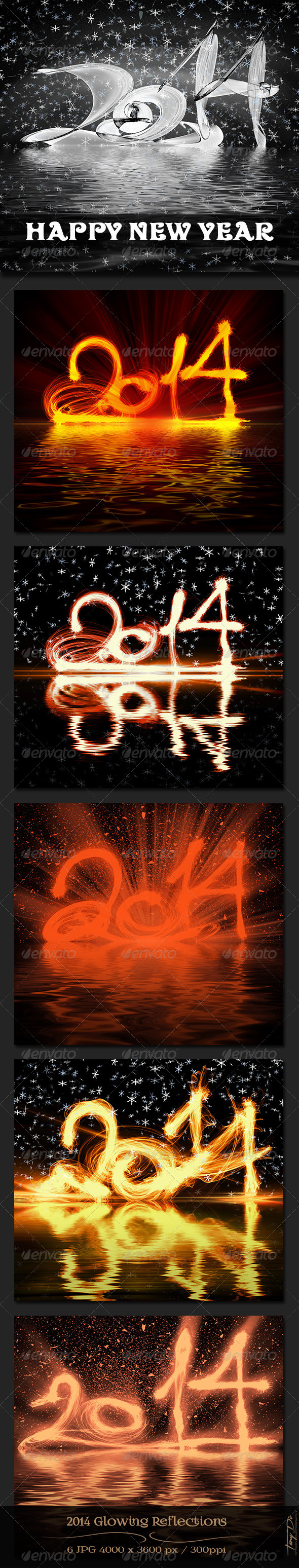 GraphicRiver 2014 Glowing Reflections 6430811