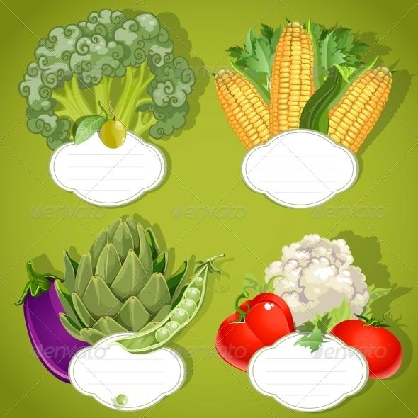 GraphicRiver Vegetarian Menu Banners 6431115