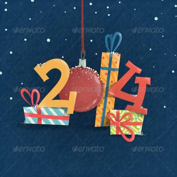 GraphicRiver Merry Christmas and Happy New Year 6431919