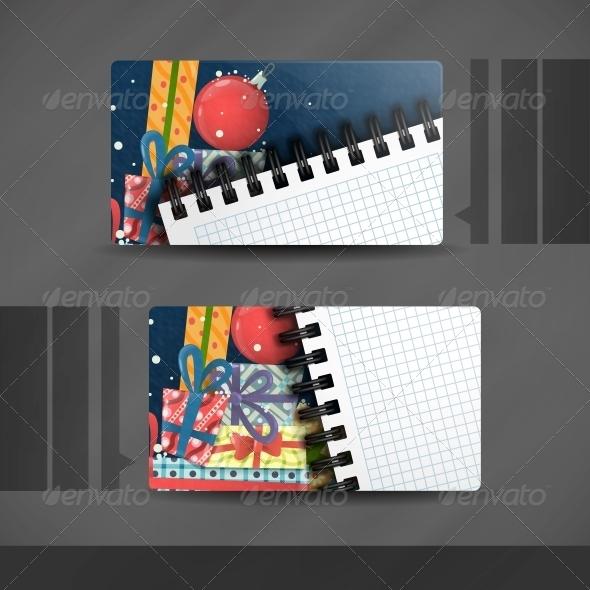 GraphicRiver Card Design 6431954