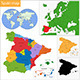 Spain Map - GraphicRiver Item for Sale