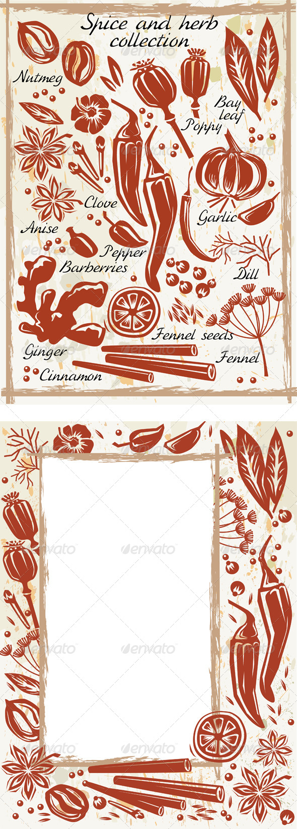 GraphicRiver Spice and Herb Collection 6432267