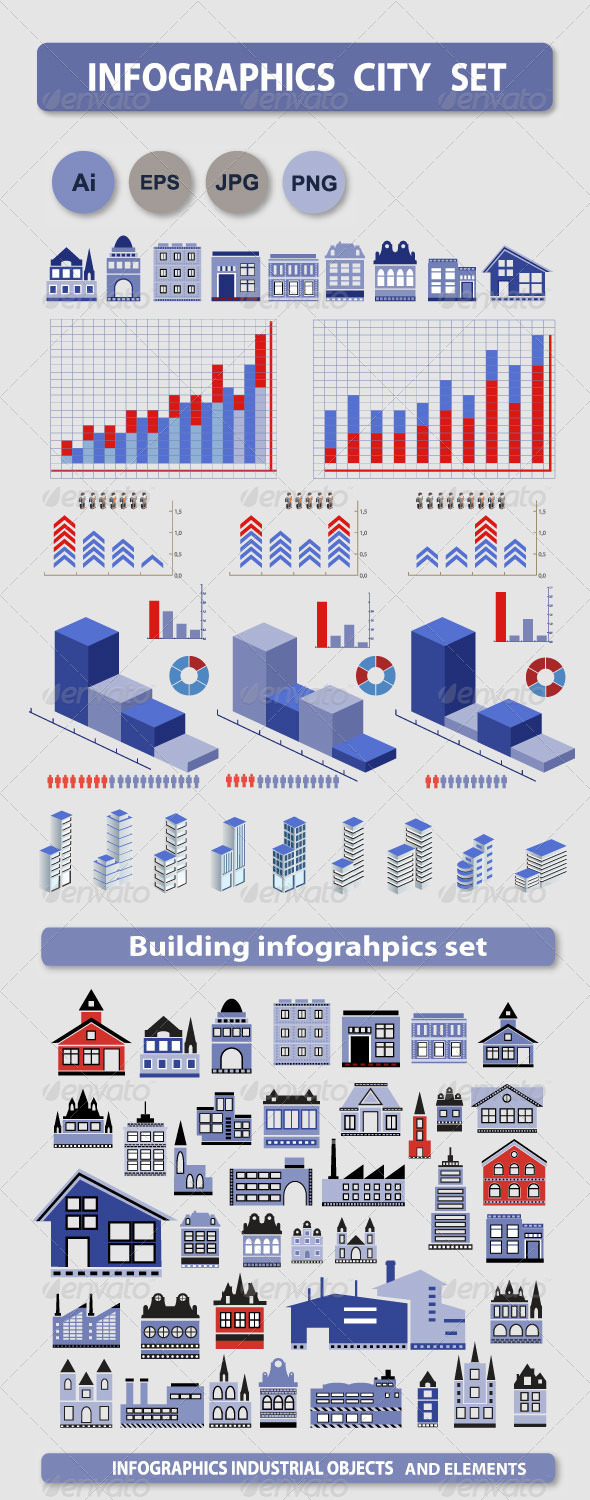 GraphicRiver Infographics set 6432365