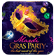 Masquerade Ball / Mardi Gras Party Flyers Template - GraphicRiver Item for Sale