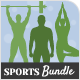 Sport Coach and Train Flyers Bundle - GraphicRiver Item for Sale