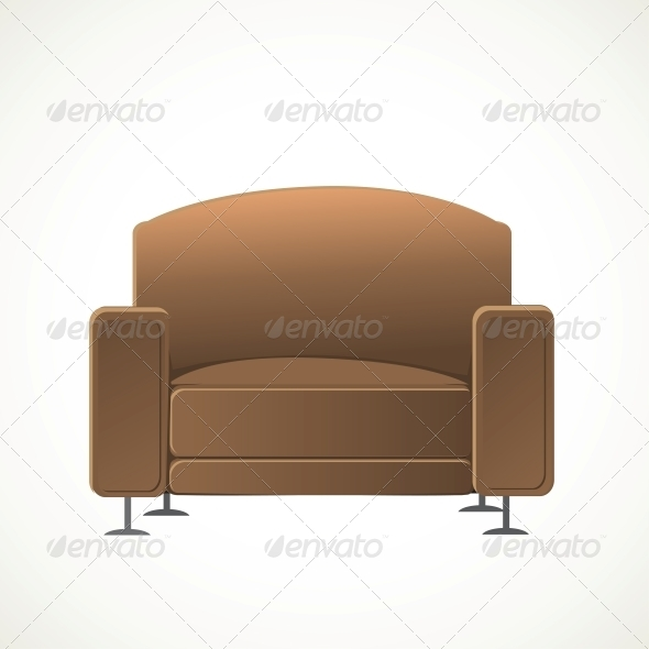 GraphicRiver Brown Armchair 6433767