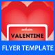 Valentine Day Party Flyer Main File - GraphicRiver Item for Sale