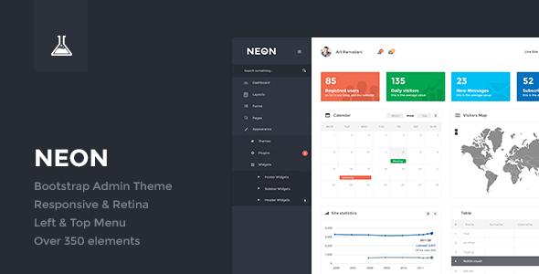 ThemeForest Neon Bootstrap Admin Theme 6434477