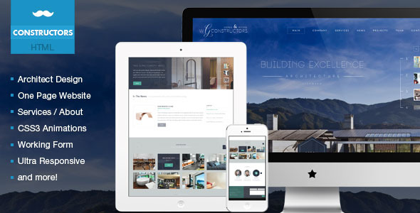 Constructors - Architects & Engineers HTML Theme