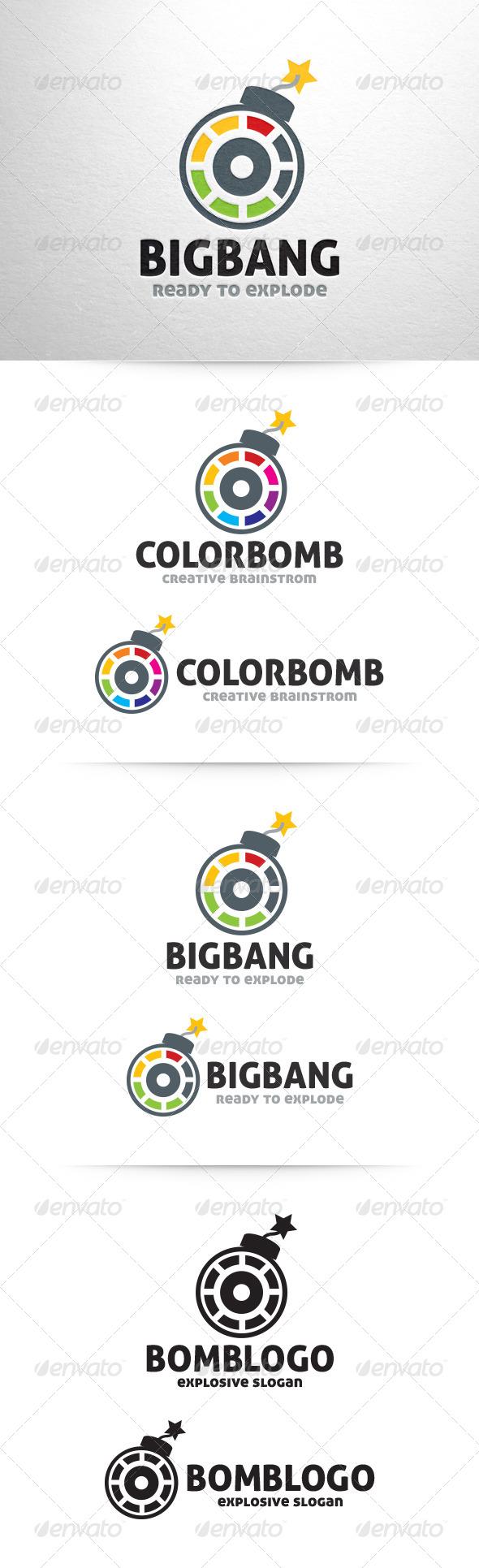 GraphicRiver Bomb Logo Template 6435456