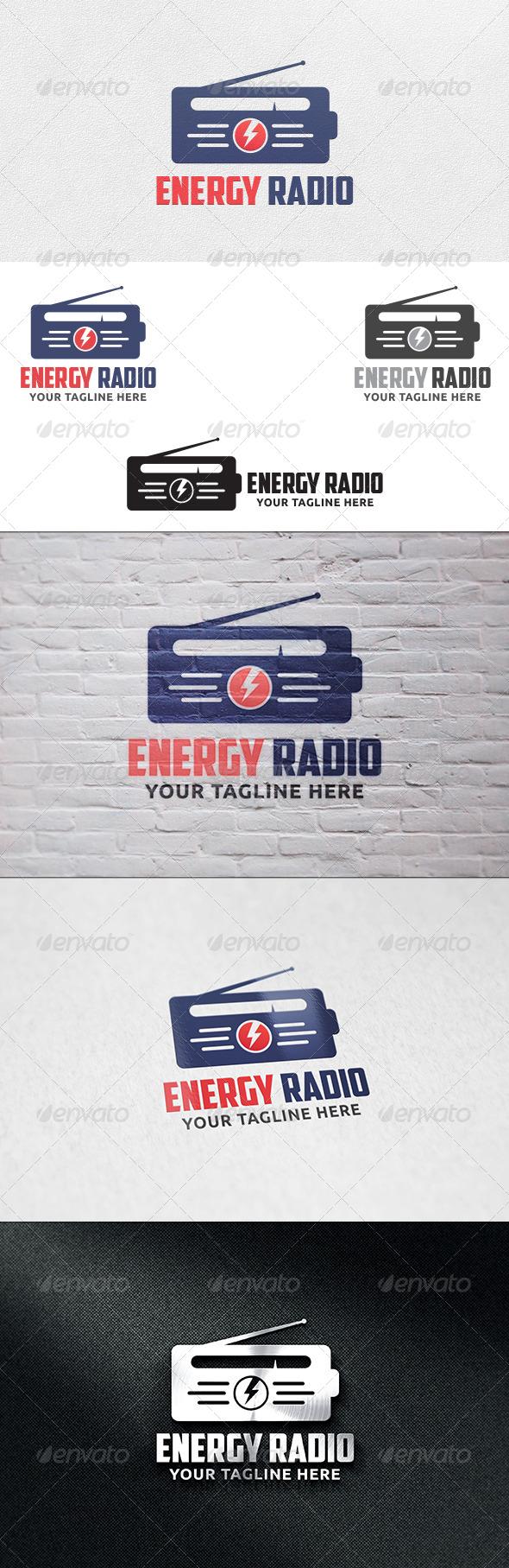 GraphicRiver Energy Radio Logo Template 6435459
