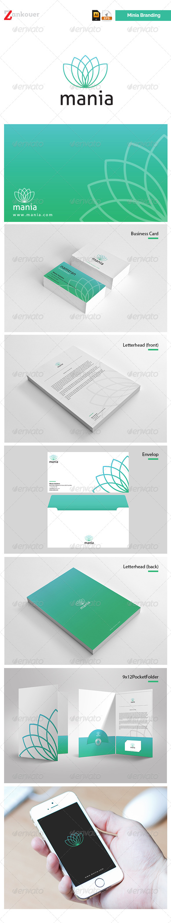 GraphicRiver Stationary & Brand Identity Mania 6435853