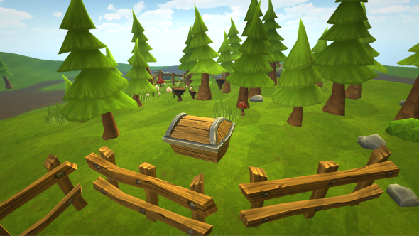 Lowpoly Forest - 3DOcean Item for Sale