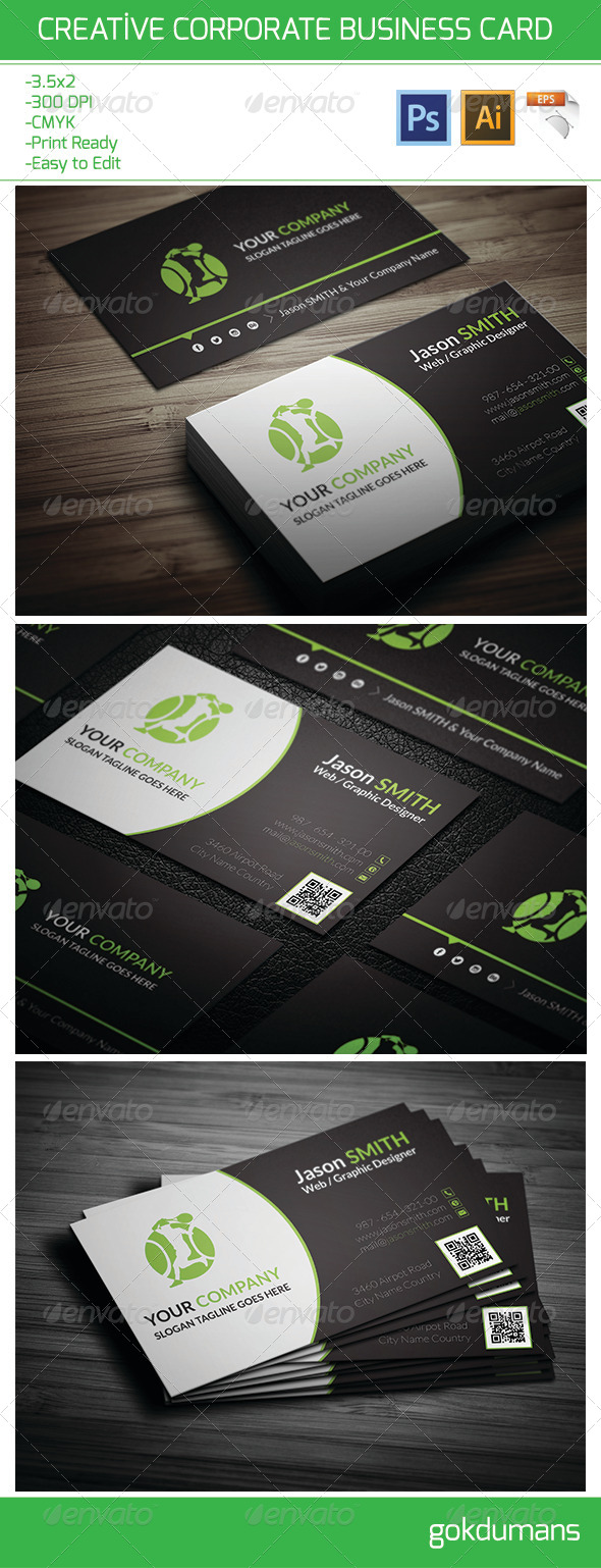 GraphicRiver Creative Corporate Business Card 20 6402801