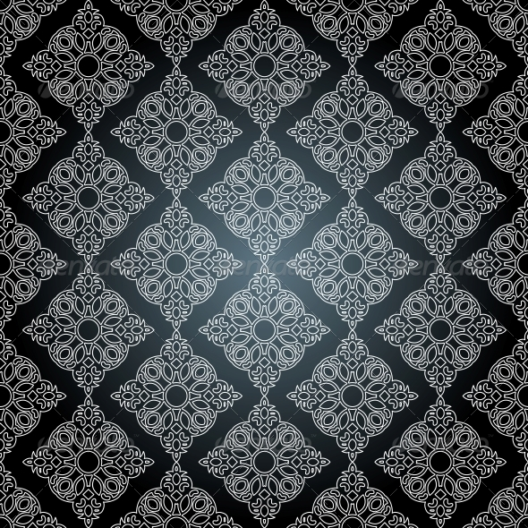 GraphicRiver Seamless Pattern in Mosaic Ethnic Style 6436436