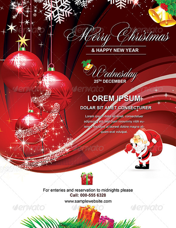 GraphicRiver New Year Design or Christmas 6436439
