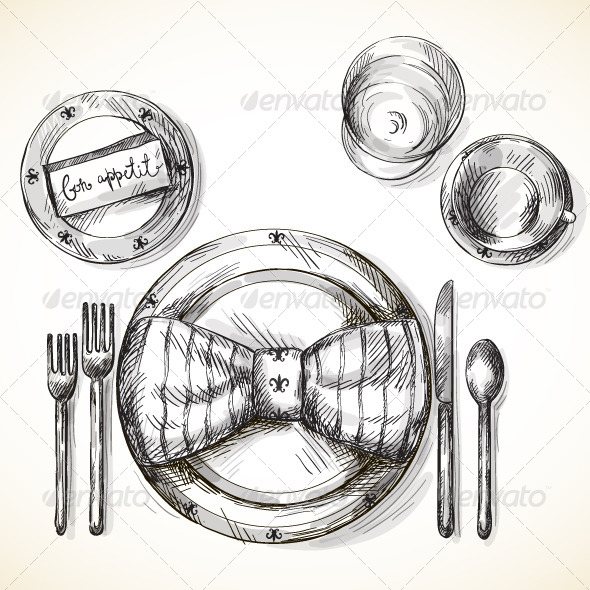 GraphicRiver Festive Table Setting 6436502