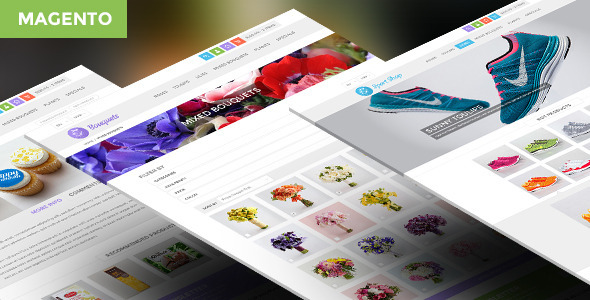 ThemeForest ButterFly Responsive Multipurpose Magento Theme 6436576