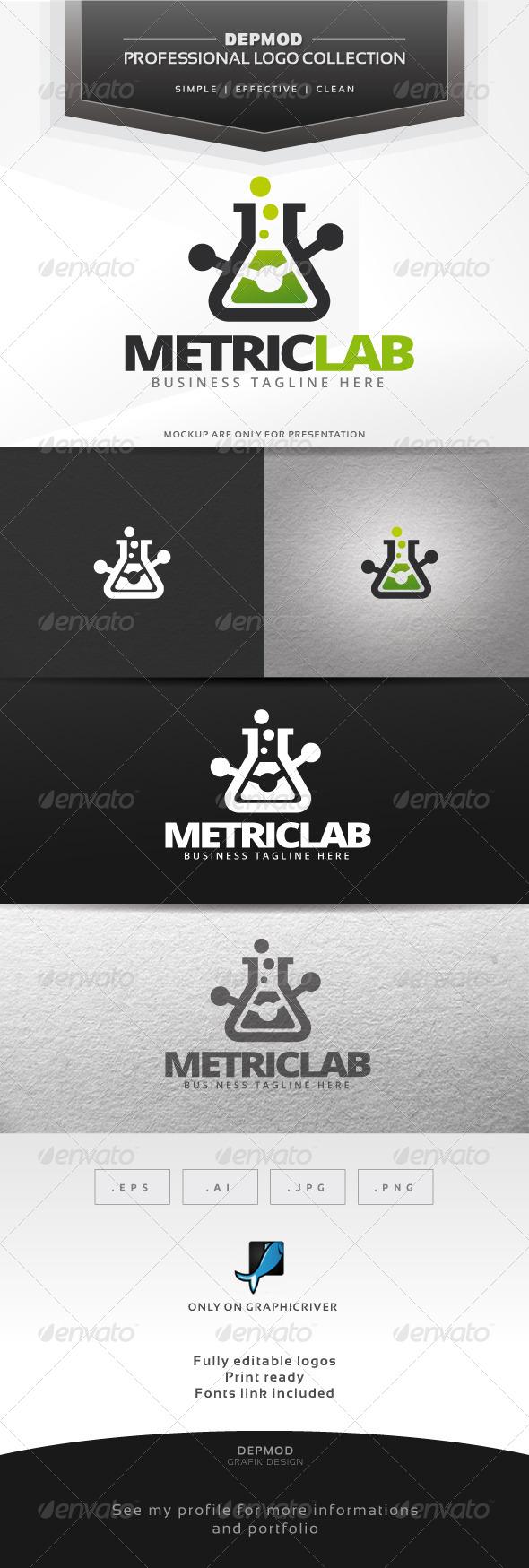 GraphicRiver Metric Lab Logo 6436669