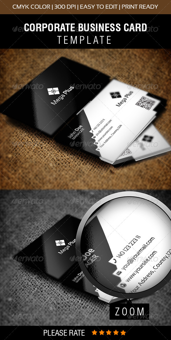 Mega Plus Business Card