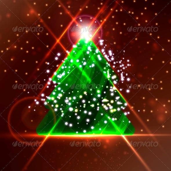 GraphicRiver Abstract Christmas Tree 6437548