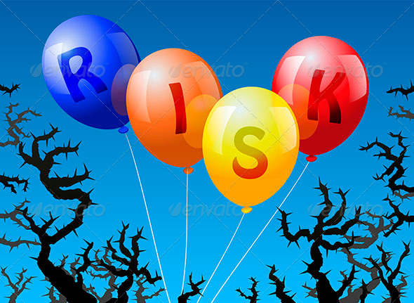 GraphicRiver Ballons Risk 6437561