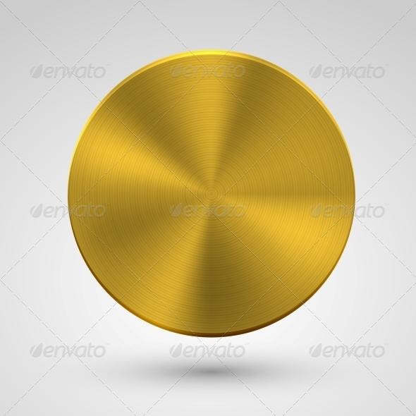 GraphicRiver Metal Circle Icon 6437653