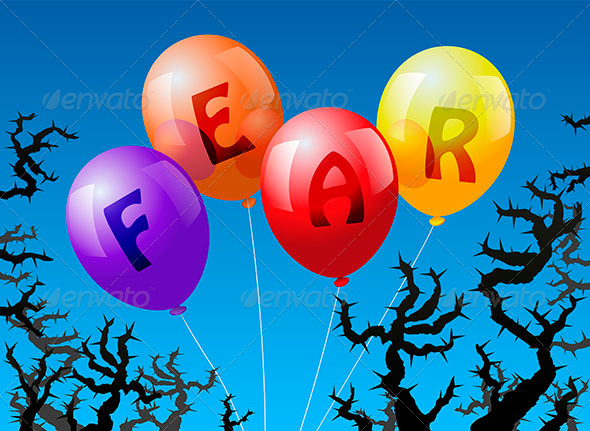 GraphicRiver Ballons Fear 6437748
