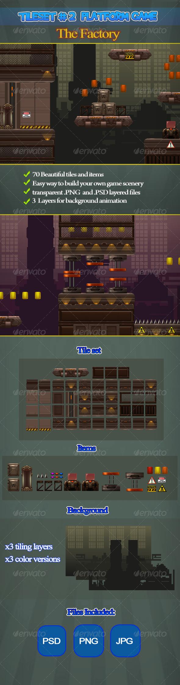 GraphicRiver 2D Tileset Platform Game 2 6418200