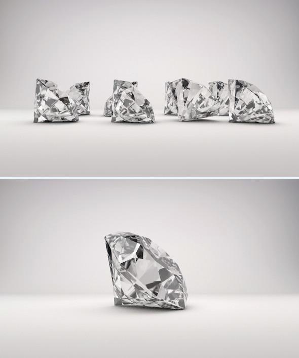 3DOcean Diamond 6431469